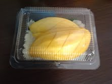 mango and sticky rice for my hubs (his favorite!)