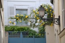 back alley in Montmartre