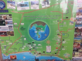 map of Ao Nang