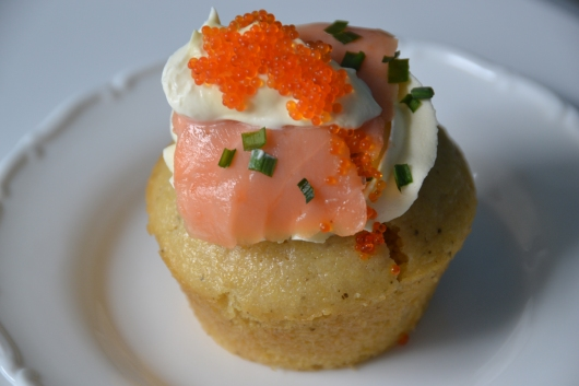 the savory cupcake