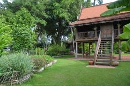 cooking school and herb garden