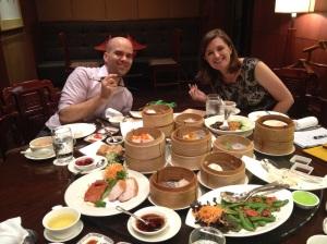 Becky and Chris at Liu